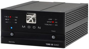 Moon 100 D da-converter zwart