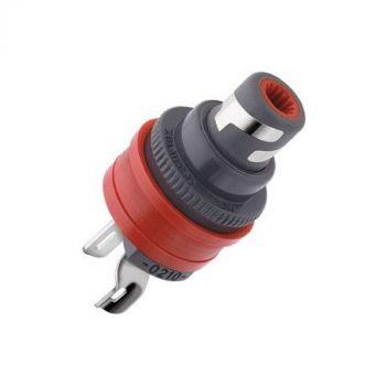 WBT-0210 Ag RCA input connector (kleurcode: rood)