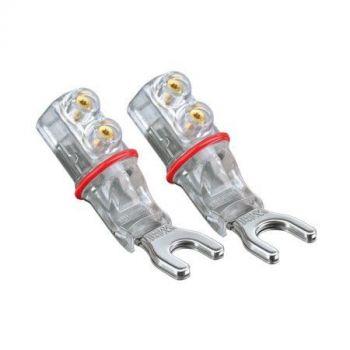 WBT-0681 Ag spade connector 8 mm (kleurcode: rood)