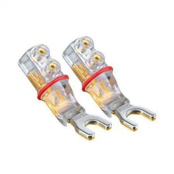 WBT-0661 Cu spade connector 6 mm (kleurcode: rood)