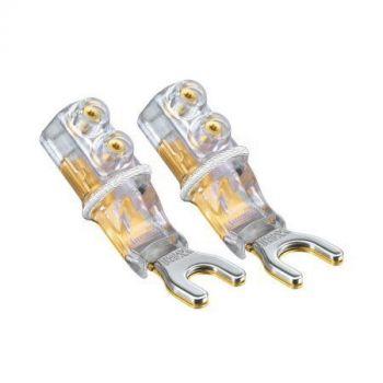 WBT-0681 Cu spade connector 8 mm (kleurcode: wit)