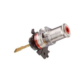 WBT-0710 Cu mC chassis connector (kleurcode: rood)