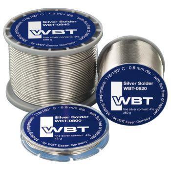 WBT-0800 zilver soldeer 42 gram (loodhoudend)