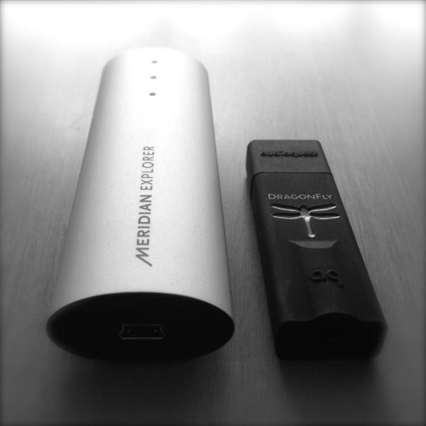 Meridian Explorer + AudioQuest DragonFly