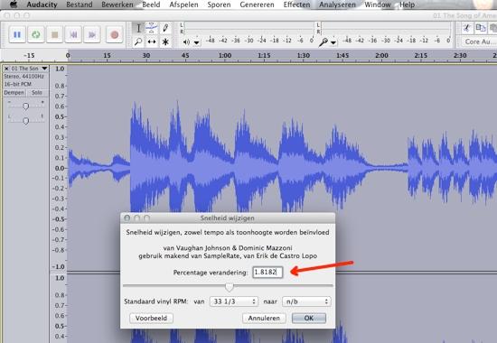 sound-editor Audacity