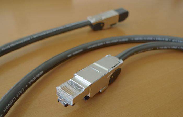 Zelf AudioQuest Cat 7 kabels maken.