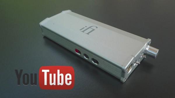 iFi Micro iDSD usb dac head-fi headphone pre-amp op YouTube