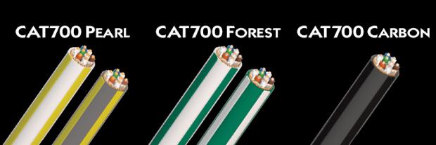 AudioQuest Pearl - Forest - Carbon CAT700 Cat 7 cables