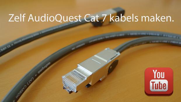 AudioQuest Cat700 Cat7 kabels maken