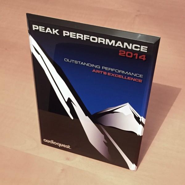 AudioQuest Peak Performance Award 2014