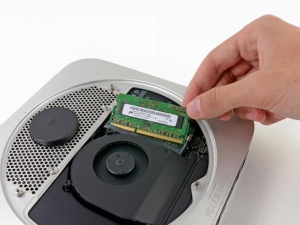 RAM-geheugen kan eenvoudig worden gewisseld.