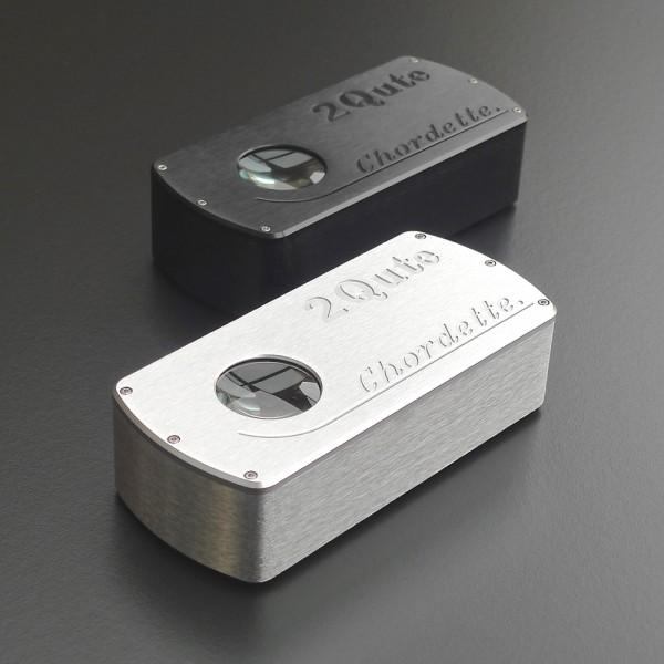 Chord 2Qute USB DAC is leverbaar in de afwerking zilver en zwart