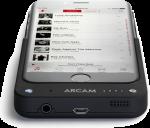 Arcam MusicBOOST, iPhone,