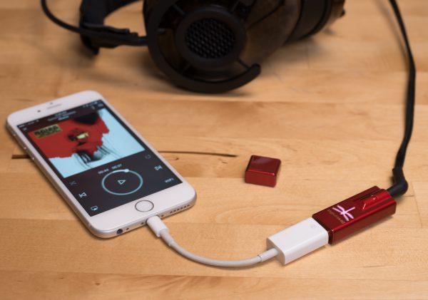 AudioQuest DragonFly Red, iPhone, beter geluid, beter geluid uit je iPhone of iPad,
