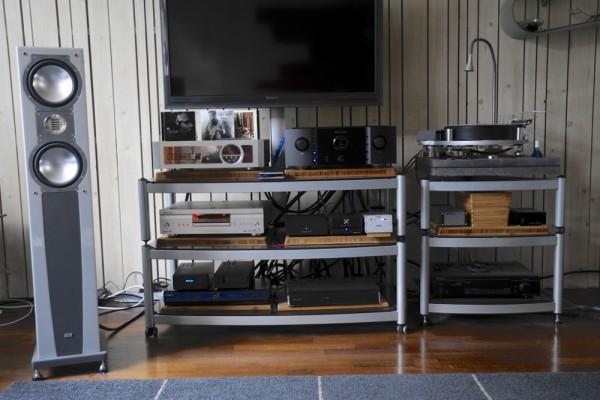 Audio-installatie van Henk Onder de Linden