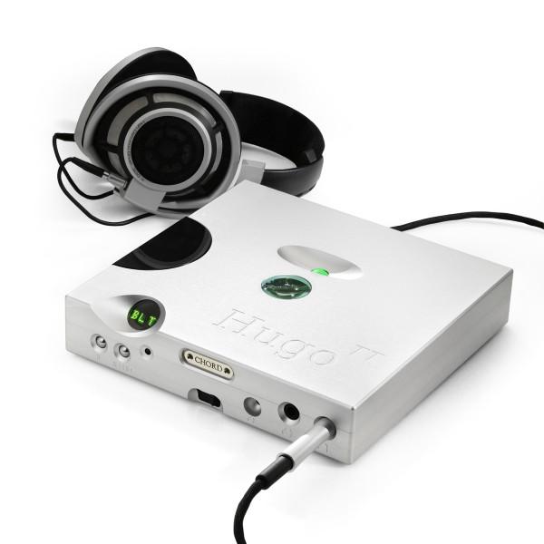 Sennheiser HD800 aangesloten op een Chord Hugo TT