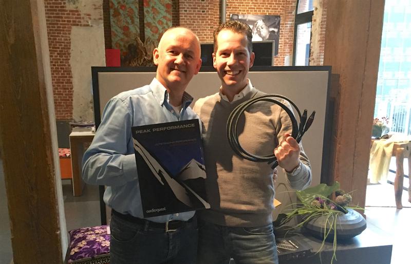 art's excellence krijgt tweede AudioQuest Award