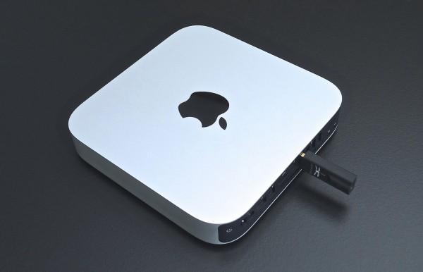 AudioQuest DragonFly Black aan een Mac mini