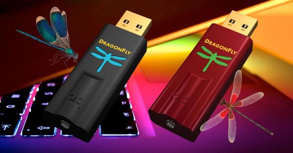 AudioQuest DragonFly Black en Red