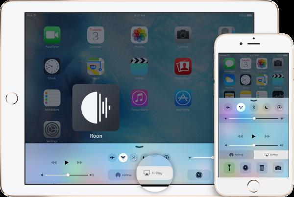 roon airplay iphone ipad