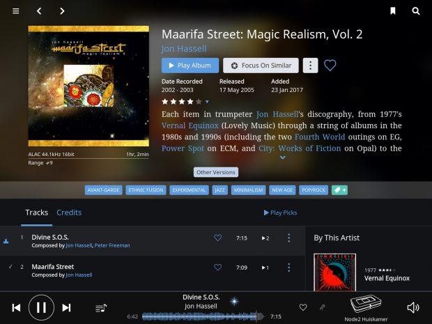 roon 1.3 - albumscreen