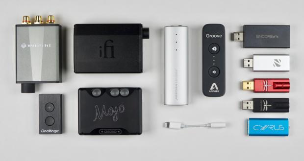 Portable USB-DAC's