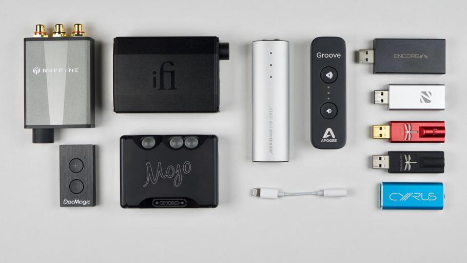 Multitest Portable USB-DAC's