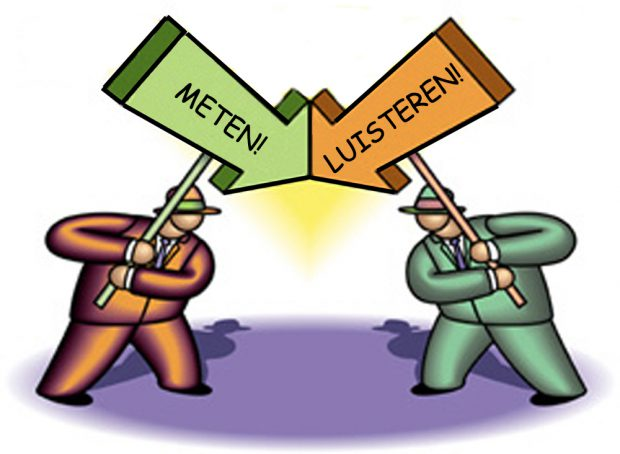 Meten vs Luisteren