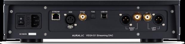 Auralic Vega G1 inputs