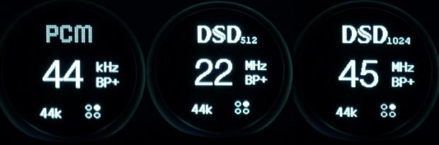 iFi Pro iDSD formats
