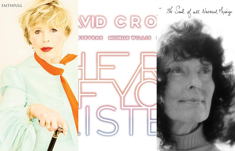 Marianne Faithfull, David Crosby en Linda Perhacs