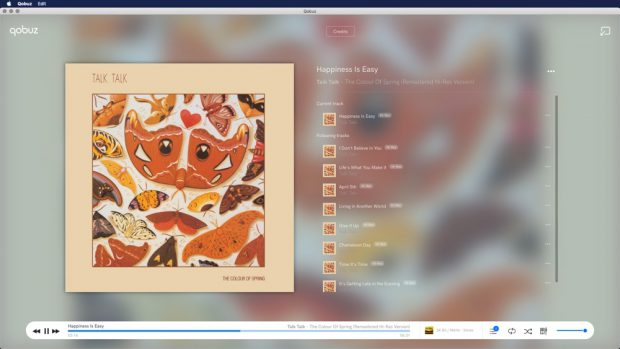 qobuz desktop fullscreen