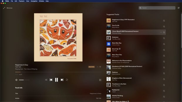 tidal desktop fullscreen