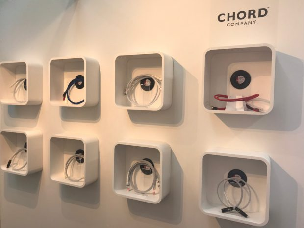 Chord Company - High End München 2019 © art's excellence
