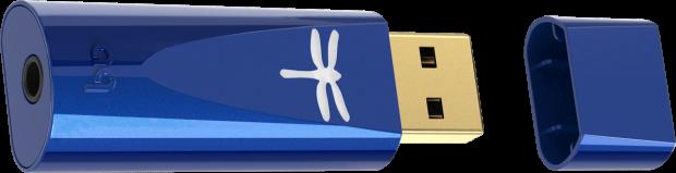 AudioQuest DragonFly Cobalt + Cap