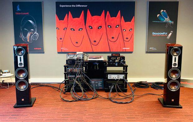 AudioQuest listening room
