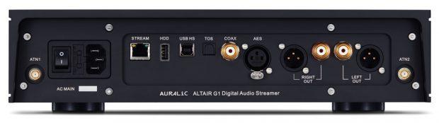Auralic Altair G1 inputs