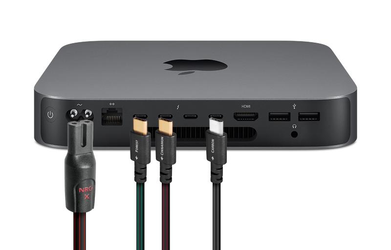 AudioQuest USB C kabels en NRG-X2 netsnoeren
